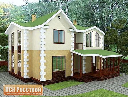Построить дом из газобетона в СПб