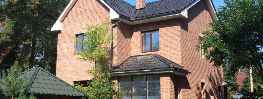 Дом из кирпича в С-Пб. и Л.О. г.Сестрорецк