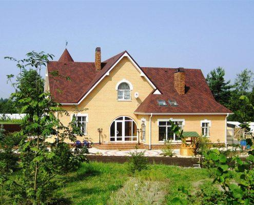 Дом из газобетона в СПб и Л.О. п.Токсово