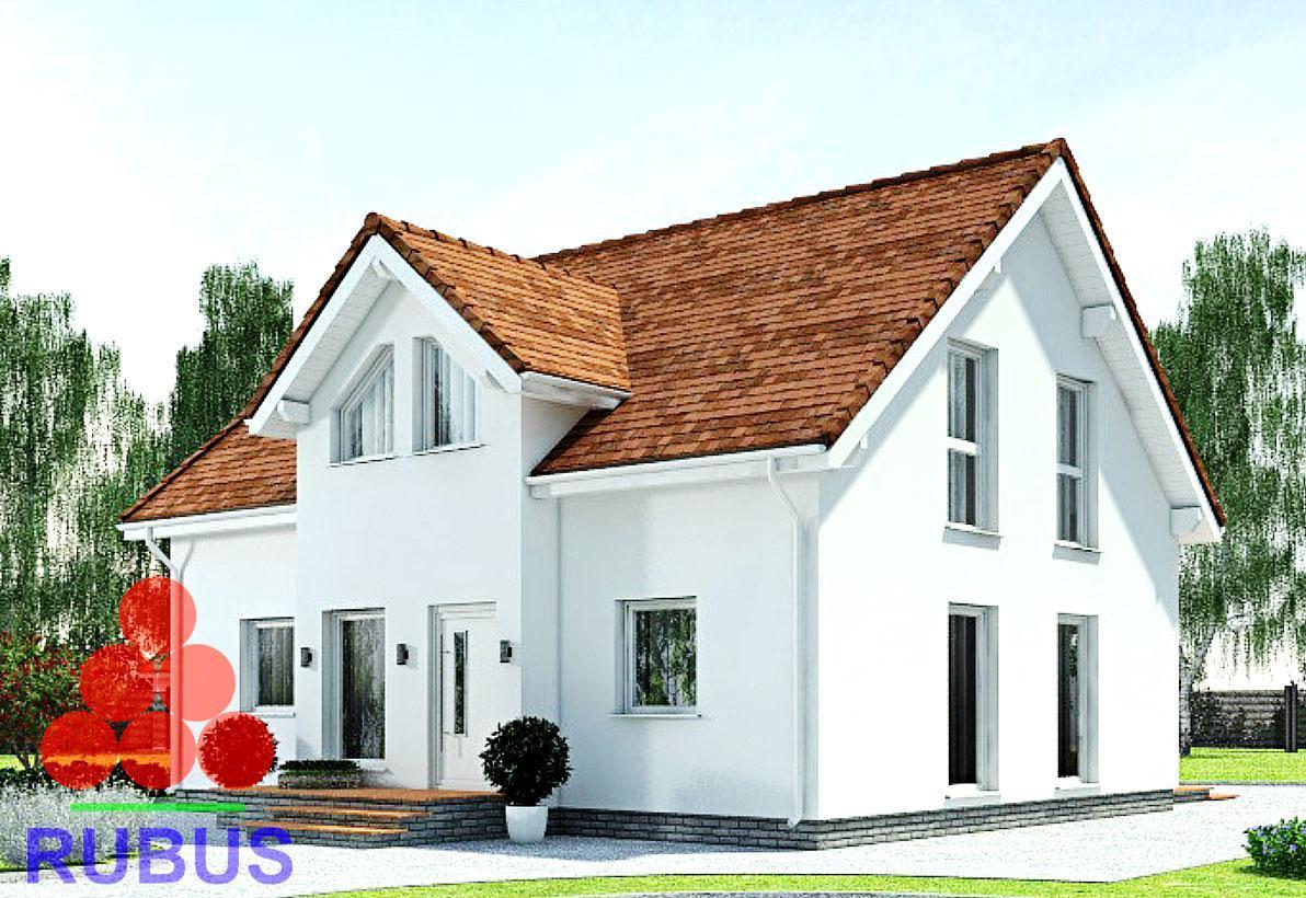 Проект дома с мансардой 1МS-160.1