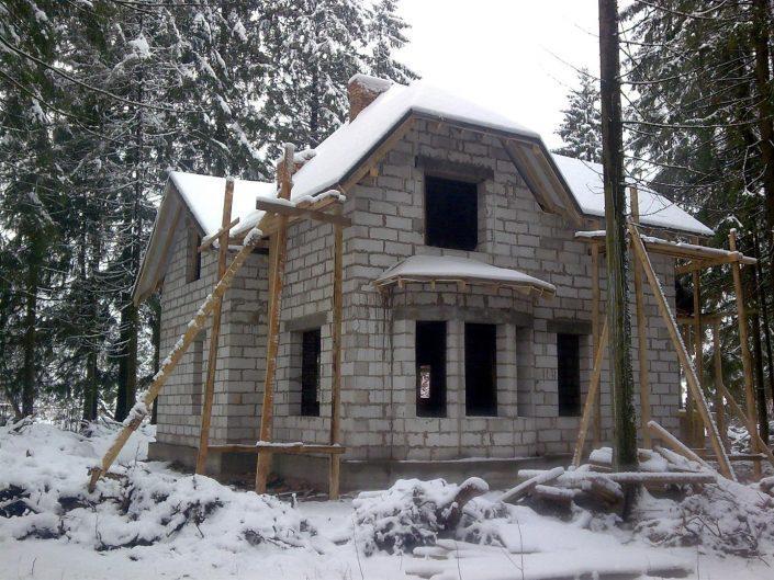 Проект дома с мансардой 1МS-160
