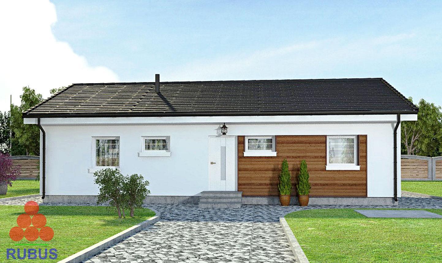 Проект одноэтажного дома 1S-97