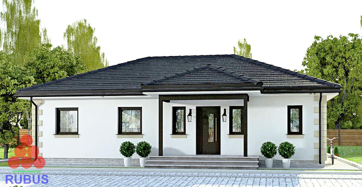 Идеальный проект одноэтажного дома1S-109