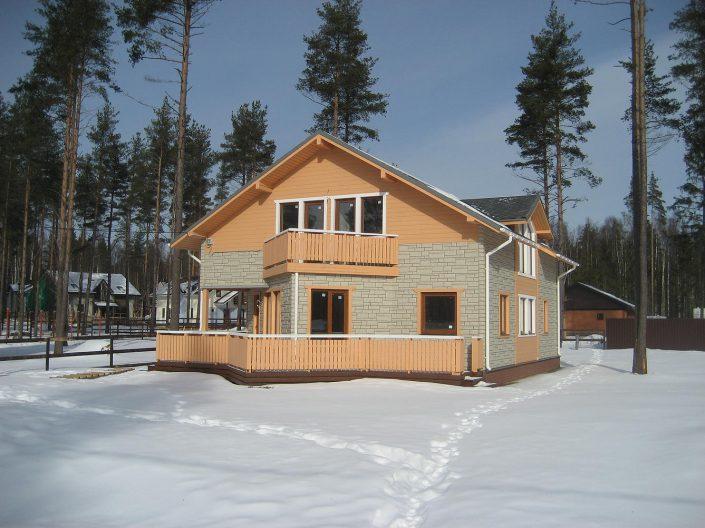 Построить каркасный дом ленинградская область