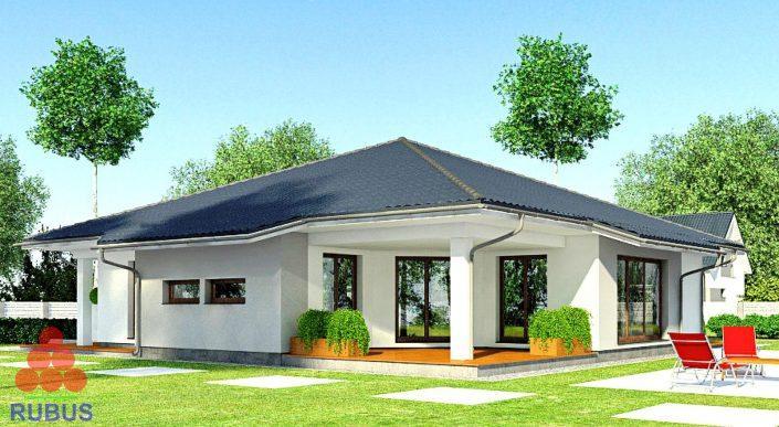 Проект одноэтажного дома 1S-172