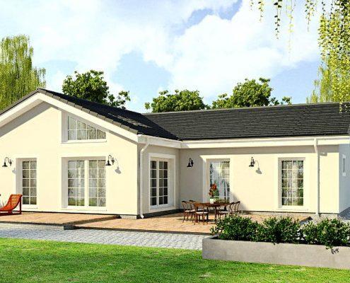Проект одноэтажного дома1S-148