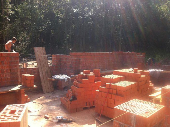 Строительство дома СПб из кирпича