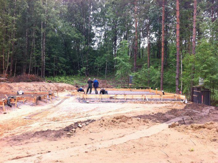 Подготовительные работы перед бетонированием