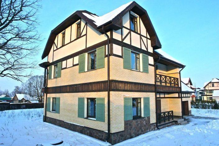 Отделка фасадов, разработка стиля от 1200 руб. м2
