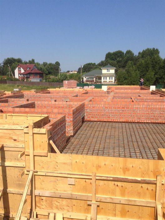 Строительство из кирпича под ключ цена
