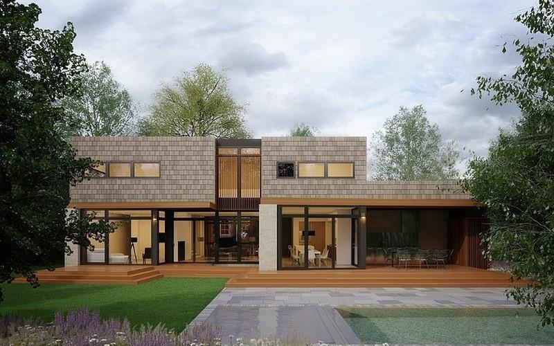 Строительство каркасного дома в спб