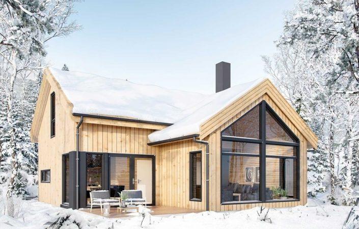 Построить каркасный дом в СПб и Ленинградской области
