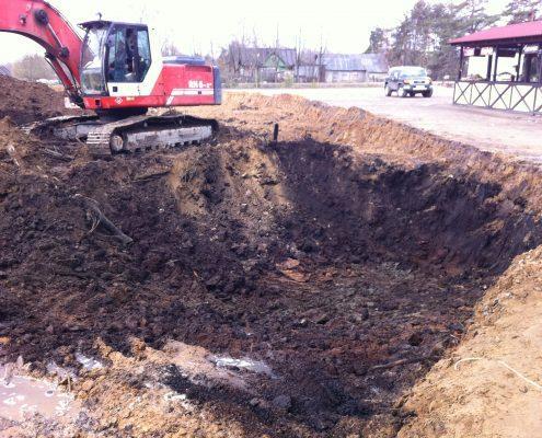 Земляные работы по выборке грунта